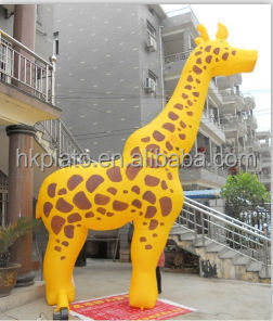 Best Selling Giraffe Inflatable/giant Inflatable Giraffe