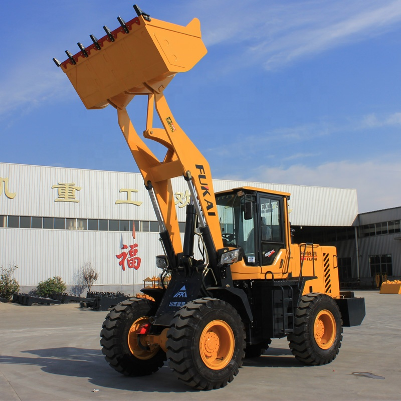 Chinese brand Liugong 1.5ton wheel loader Liugong Lonking ZL-936 front loader