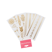 Hot sale Good quality fashion temporary flash tattoo sticker for body