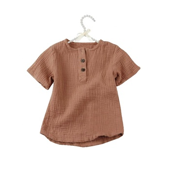 Best selling products design kid clothing wholesale children clothes girl tops