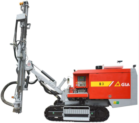 Integrated Hydraulic in the open DTH Drill
