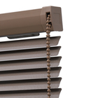 New Design Faux Wood Printing External Aluminum Blinds Light Adjustment Horizontal Venetian Blinds