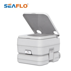 SEAFLO 10L Portable Mobile Toilet Plastic Toilet Bowl for Camping portable toilet 20l