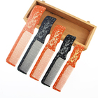 New Styling Direct Wooden Hair comb Hair Anti-Static Hair Beard Comb Set