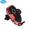 Smartphone Holder Car Charger Infrared Auto Sensing Wireless Charger Car Mount For Samsung