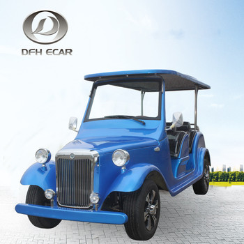 2019new designs low speed electric classic vehicle for tourist use