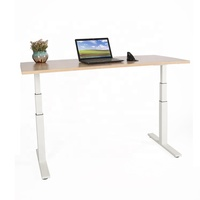 Ergonomic Office Computer Electric Height Adjustable Stand Up Standing Desk Frame