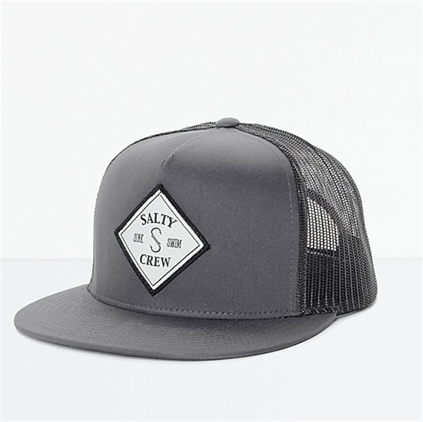 New Style 5 Panel Embroidered Mesh Baseball Snapback,Custom Flat Curved Brim Plain Snap Back <strong>Hats</strong>,Hip Hop Custom Gray Cap