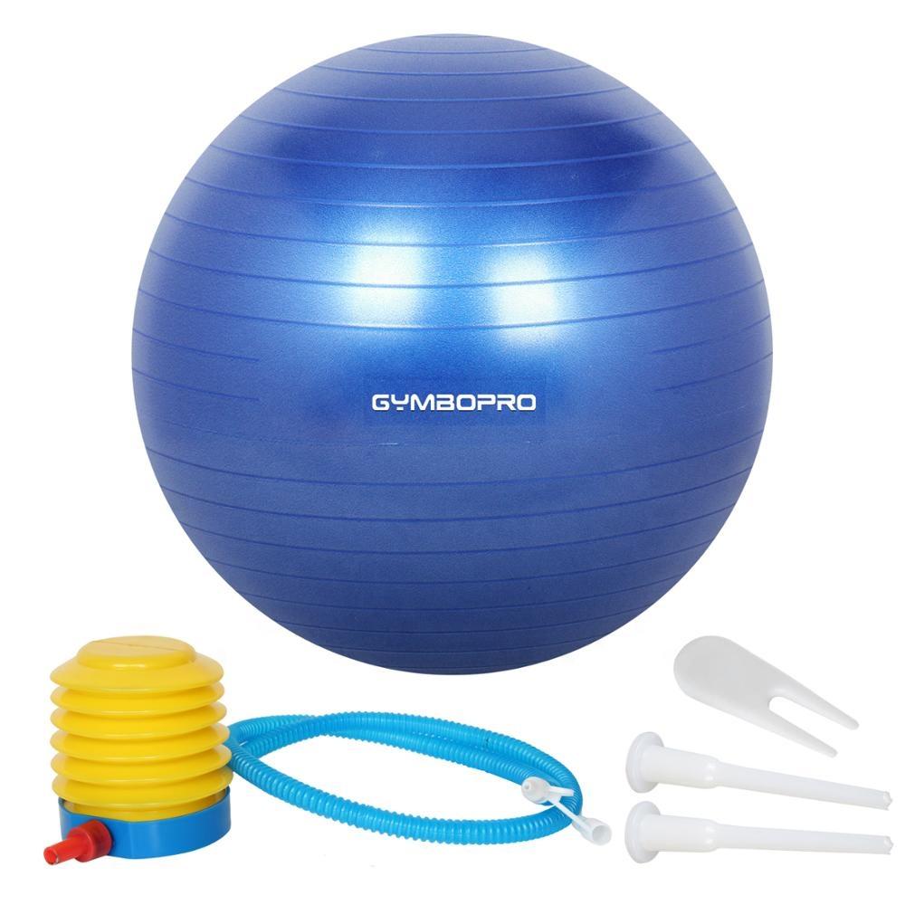 AFX Anti-Burst Exercise Gym Ball Heavy Duty Swiss Ball with Pump 65cm /& 75cm