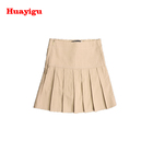 Fantastic quality new school uniform girls pleated mini skirt