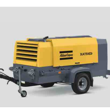 Atlas Copco Portable Kubota Diesel Engine Drive Screw Air Compressor for Spray Painting