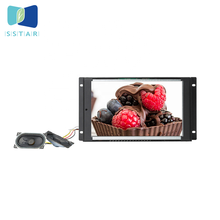 <span class=keywords><strong>Open</strong></span> frame 10 inch commerciële LCD reclame scherm, lus video display