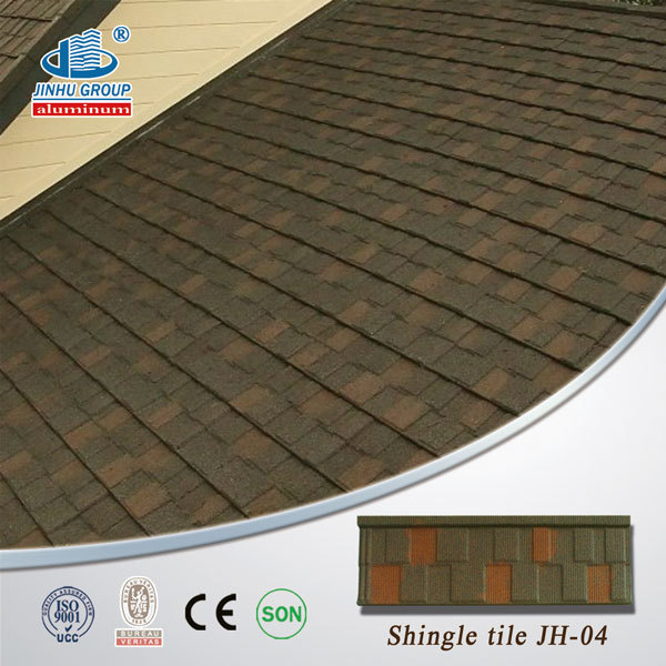 Great Spanish Style Villa Roofing Shingles Color Steel Material Synthetic Resin  Roof Tile