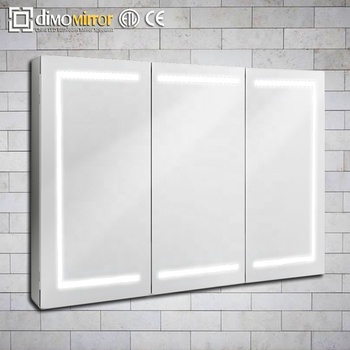 Luxury Decorate Triple Doors Kitchen Medicine Cabinet Bathroom Led Mirror  Cabinet   Buy Led Mirror Cabinet,Luxury Decorate Triple Doors Kitchen Led  ...