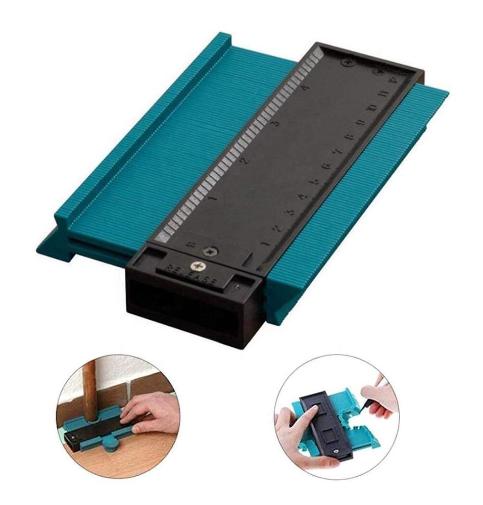 5 Zoll Und 10 Zoll Contour Profil Gauge Fliesen Laminat Fliesen Rand Gestaltung Holz Messen Lineal Abs Kontur Gauge Duplizierer Werkzeuge Mess & Messwerkzeuge