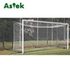 White Aluminum Futsal Junior Folding Soccer Goal