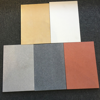 Water Proof Prefabricated High Quality 15mm Thickness Colored Fiber Cement Board