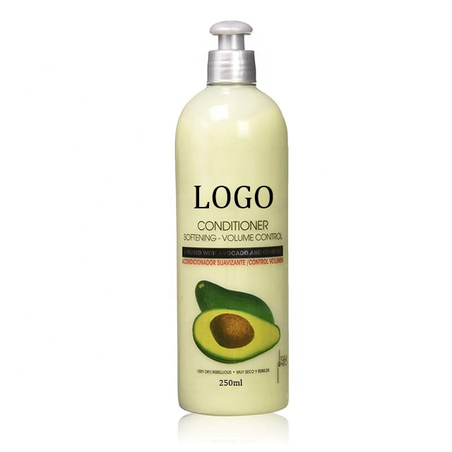 OEM Private Label Puro Riparazione Idratante Naturale Avocado Balsamo Per Capelli