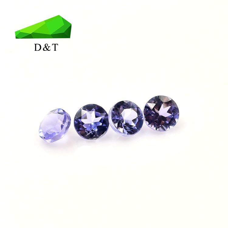 cheap gemstone natural stone round cut tanzanite gemstones for sale