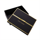 Custom made luxury black boutique gift packaging box