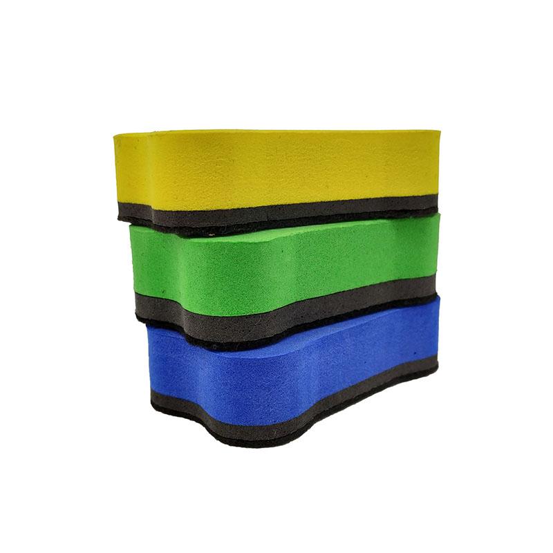Горячая продажа на заказ магнитно-маркерная доска сухая салфетка ластик для белой доски