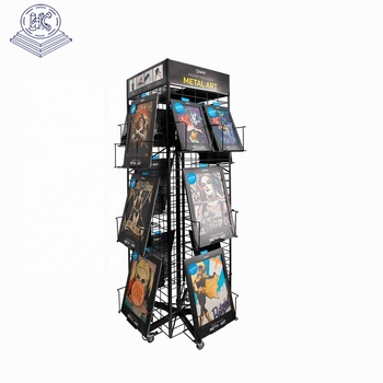 OEM durable table top poster display stand