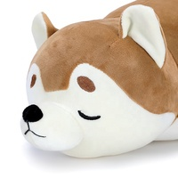 cheap High quality shiba inu Soft cute baby animal dog stuffed plush toy