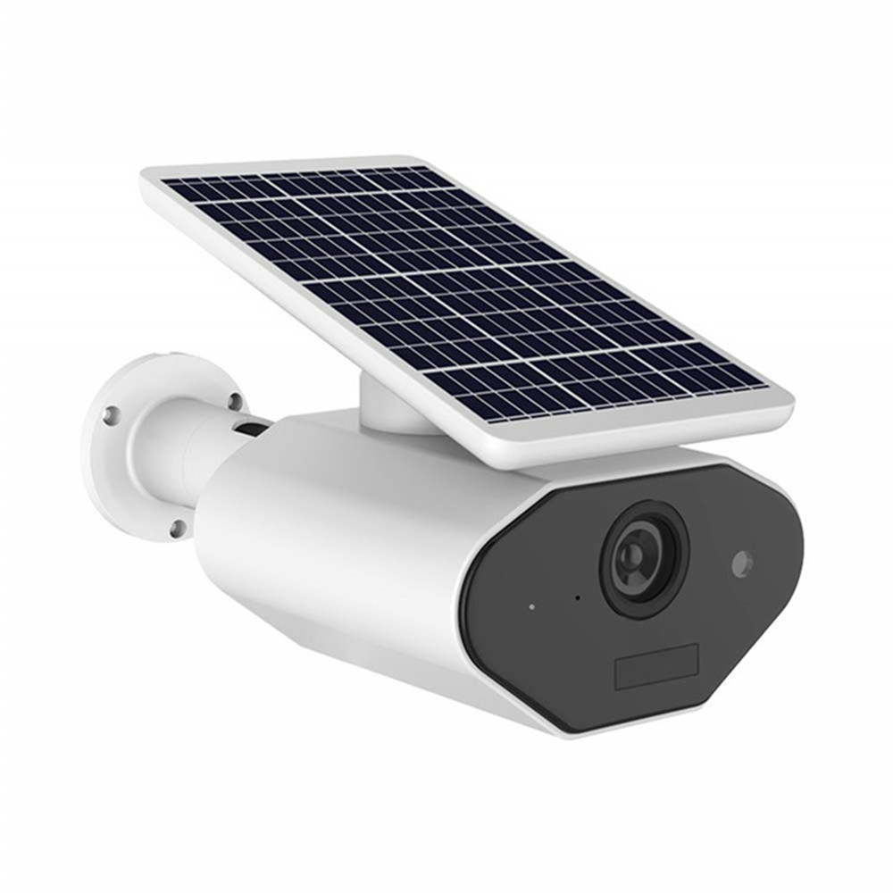 1080P Solar IP Camera 2MP Draadloze Wi-fi Security Surveillance Waterdichte Outdoor Camera IR Nachtzicht Solar Wifi Camera