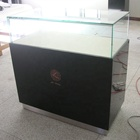 Professional factory display showcase counter modern display cabinet