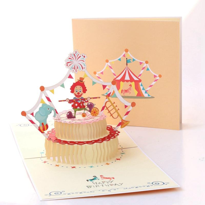 Открытки днем, объемный торт открытка видео