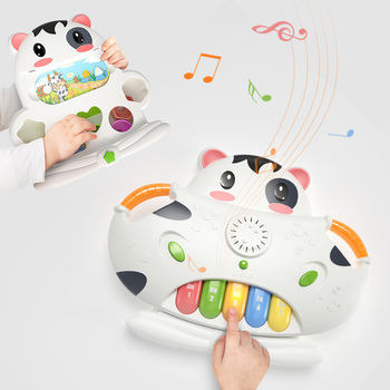 2 in1 plastic organ baby keyboard piano musical instrument