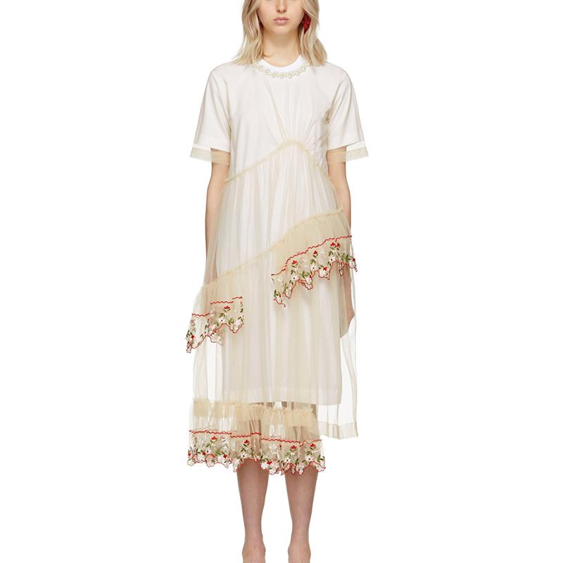 3ecc5becbaf Белый цвет Фея для женщин бутик костюмы стиль индивидуальные стили тяжелых  проектирование бисер цветы вышивка Сетчатое