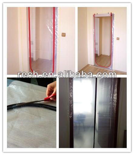 Plastic Zipper Door Plastic