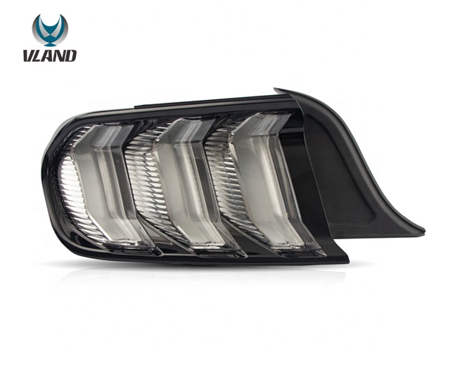 VLAND factory wholesales full led Five Model taillight 6th Gen 2015 2016 2017 2018 2019 <strong>tail</strong> <strong>lights</strong> For <strong>Ford</strong> Mustang