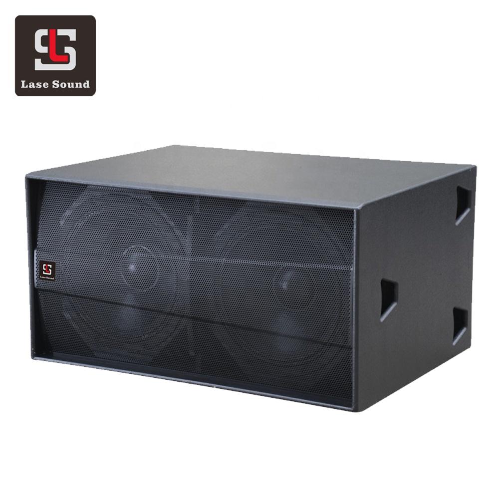 S218 + dj bass lautsprecher dual 18 zoll große power lautsprecher subwoofer box sound system
