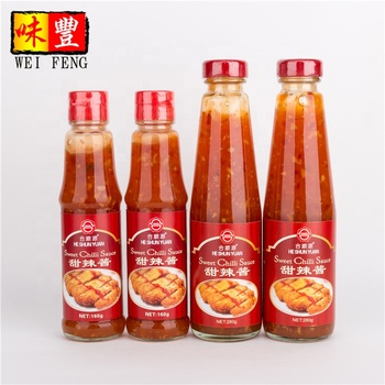 sweet chilli sauce OEM Thai style Sweet Chili Sauce halal BRC FDA wholesale best brandsred pepper hot spicy paste