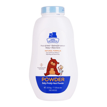 Chinese manufacturing 200g anti-miliaria Yozzi baby powder brands for baby care products.