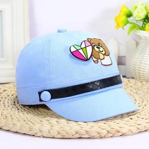 6f95655c7 2019 wholesale spring children cartoon embroidery baseball cap infant new  bear sports cap sunshade cap
