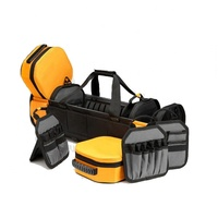Big Capacity Hand Carry-on Basket Design Electrician's Tool Bag with Multiple Removable Isolators for All Kinds of Tools