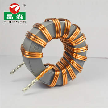 Chipsen T29*19 toroidal ferrite core choke coils Electric Induction 200uh 10a toroidal inductor magnetic coil