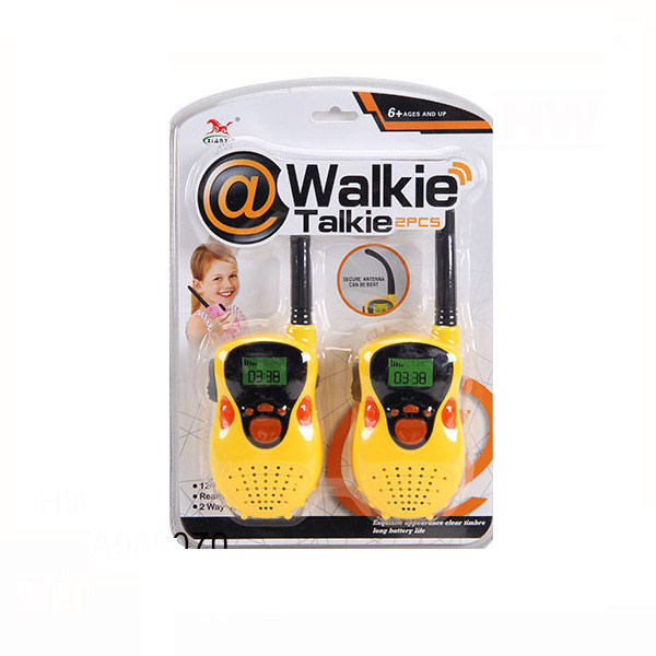 Good quality kids funny toys plastic cheap walkie talkie