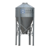 Feed storage poultry chicken animal feed silo animal equipment silo use for pig farming