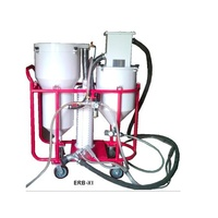 Vacuum abrasive blasting and recovery machines