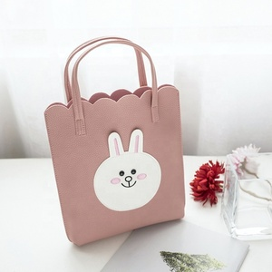 2019 New Korean Version Of The Casual Rabbit Pattern Portable Bucket Bag Handbags Wholesale