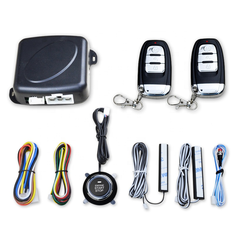 TINDERALA Universele pke drukknop motor start stop keyless entry remote start auto alarm systeem