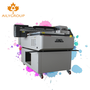Aily printer UV 6090 flatbed uv printing machine with photo print rip  software
