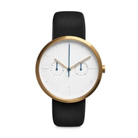 Quartz Movement Men Watch Minimalist Band Man Watch