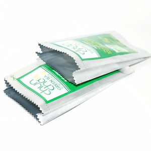Five Stars FDA hot seal resealable aluminum foil stand up pouch bag foil rice paper pouch