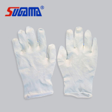 protective examination disposable latex gloves powdered or powder free