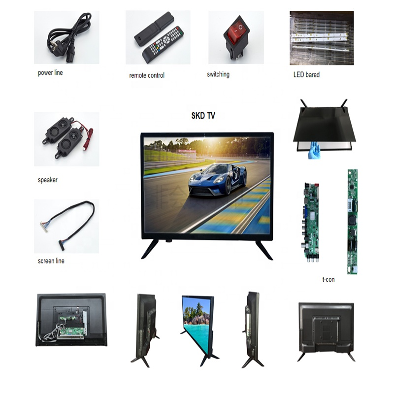 """Amazing wholesale good design competitive price TV 21.5"""" 24"""" 32"""" 40"""" 43"""" LED TV skd LCD"""